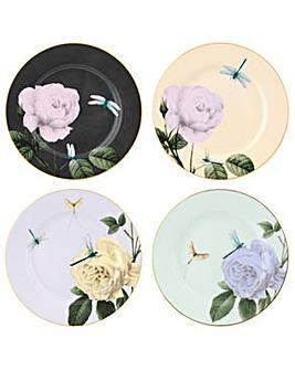 Ted Baker, Salad Plate x 4  - Rosie Lee