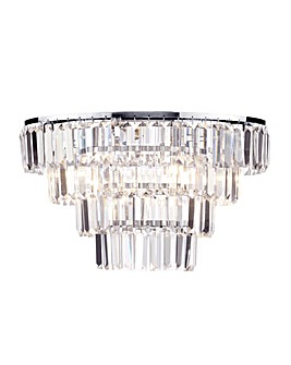 Prism 4 Tier 5 Light Flush Ceiling Lt