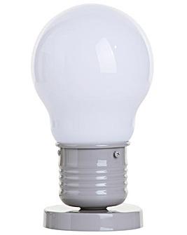 Large Light Bulb Style Table Lamp-Latte