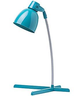 Thomas 1 Light Task Lamp - Teal