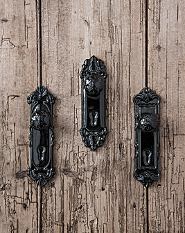 Gallery Porta Locks Black set of 3