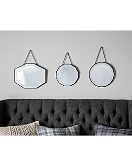 Gallery Haines Scatter Set of 3 Mirrors
