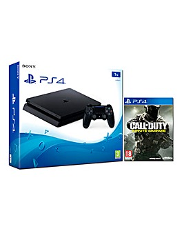 PS4 Slim 1TB Console & Call of Duty