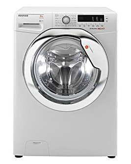 Hoover 8kg Washer White/Chrome & Install
