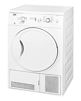 Beko 7kg Condenser Dryer White