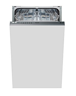 Hotpoint Built-In Slimline Dishwasher