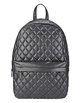 PU Quilted Backpack