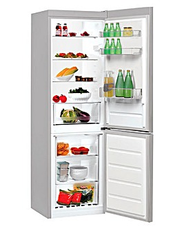 Indesit 60cm Fridge Freezer Silver
