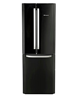 Hotpoint 70cm Fridge Freezer Black