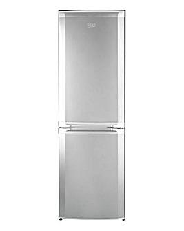 Beko 70/30 Fridge Freezer Silver