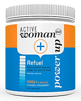Active Woman Strawberry Recovery Shake