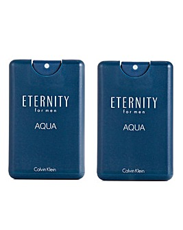 CK For Eternity for Men Aqua 20ml- BOGOF