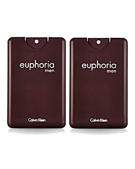 CK Euphoria for Men 20ml- BOGOF