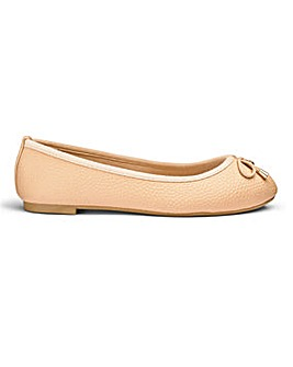 Sole Diva Alice Basic Ballerina EEE Fit