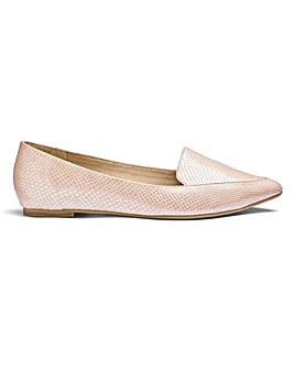 Sole Diva Pointed Loafer E Fit