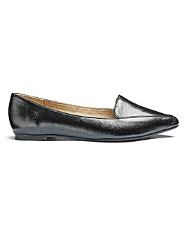 Sole Diva Rochelle Pointed Loafer E Fit
