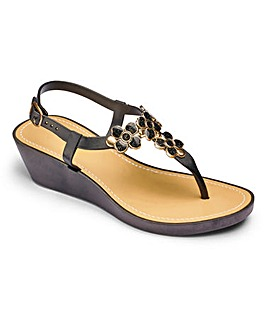 Sole Diva T-bar Wedge