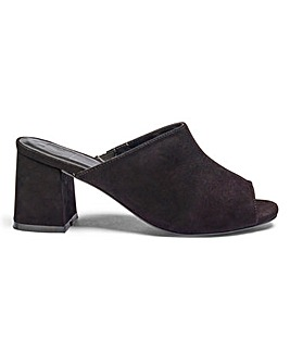 Sole Diva Molly Mule EEE Fit