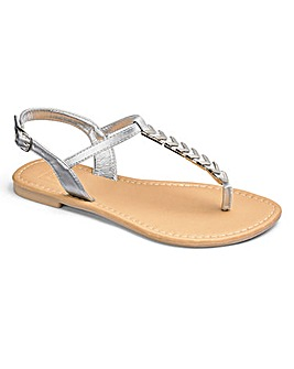 Sole Diva Trim Sandal Extra Wide EEE Fit