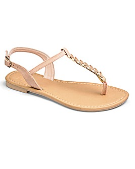Sole Diva Serena Trim Sandal EEE Fit