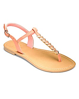 Sole Diva Serena Trim Sandal E Fit