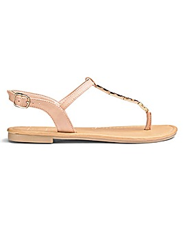 Sole Diva Trim Sandals E Fit