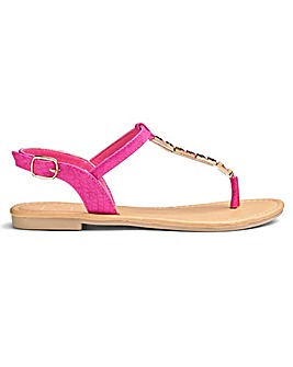 Sole Diva Trim Sandal E Fit
