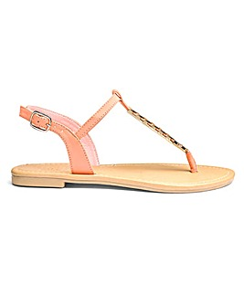 Serena Trim Sandal E Fit