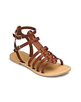 Sole Diva Eden Gladiator Sandals E Fit