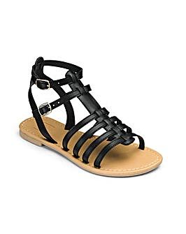 Sole Diva Eden Gladiator Sandals EEE Fit
