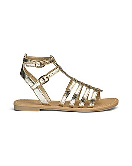 Sole Diva Eden Gladiator Sandals E Fit
