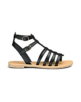 Sole Diva Eden Gladiator Sandals EEE Fit
