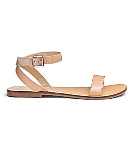 Sole Diva Leather Sandals E Fit