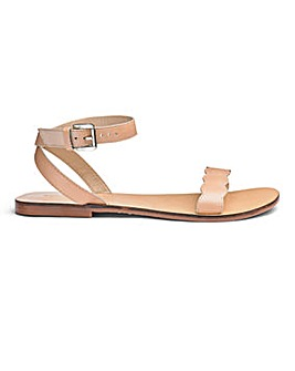 Sole Diva Leather Sandals EEE Fit