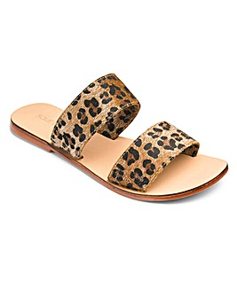 Sole Diva Leather Mules E Fit