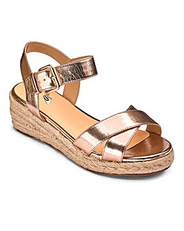 Sole Diva Wedge Espadrille E Fit
