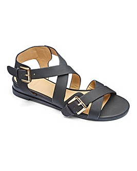 Sole Diva Buckle Sandal E Fit