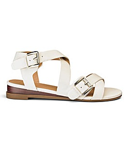 Sole Diva Buckle Sandal EEE Fit