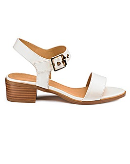 Sole Diva Lauren Block Sandals E Fit