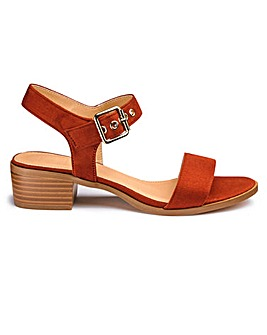 Sole Diva Block Sandals E Fit