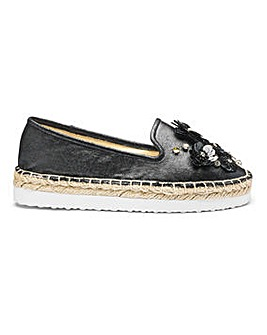 Head Over Heels by Dune Espadrille D Fit
