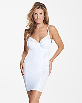 "Rose Wired Slip 34"" length"