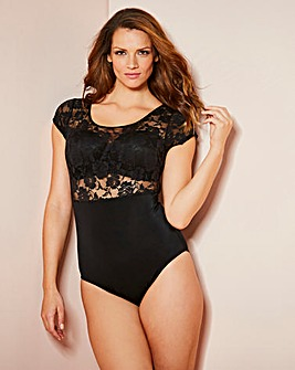 High Waist Lace Body