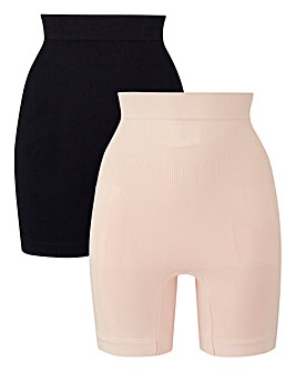 2 Pack High Waisted Thigh Shaper