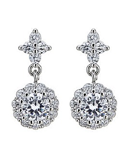Jon Richard crystal cluster earring