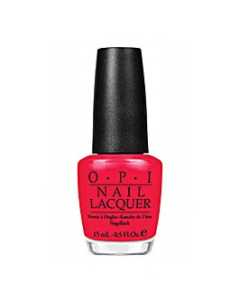 OPI Red Lights Ahead Where? 15ml Polish