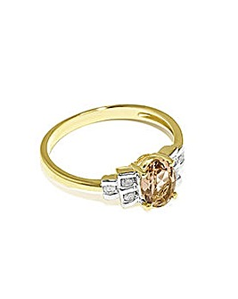Ladies 9ct Yellow Gold Bow Style Ring