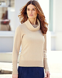 Nightingales Cowl Neck Sweater