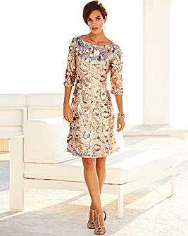 Nightingales Sequin Dress L39ins