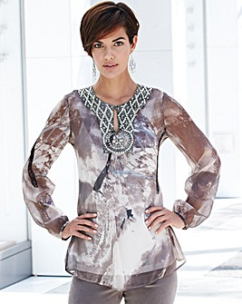 Nightingales Embellished Blouse